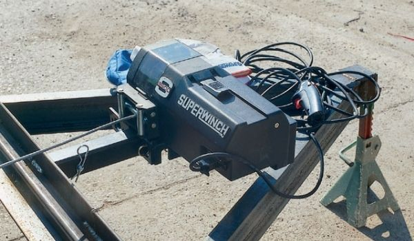 How To Mount A Winch On A Trailer