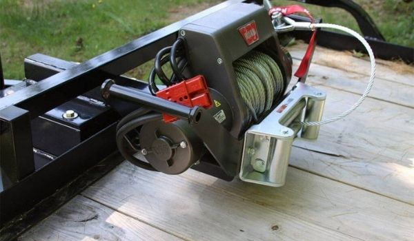 Mount A Winch On A Trailer